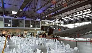 Hugo junkers hangar hochzeit
