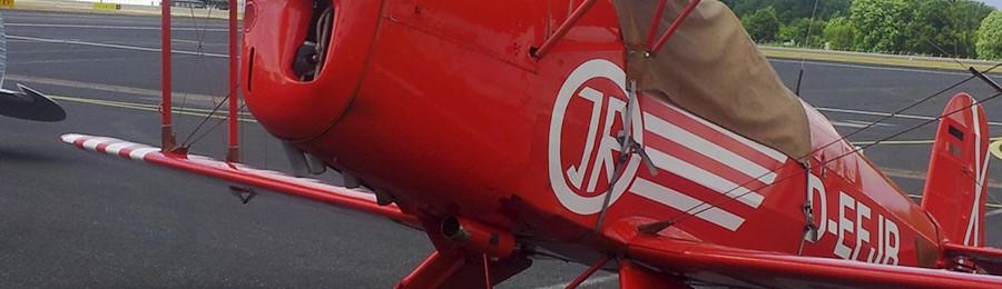 27. September: Diverse Piloten mit ihren Oldtimer-Flugzeugen beim Fly-in erwartet