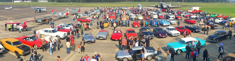 »Oldtimer Fly- & Drive In« +++ Termine 2019