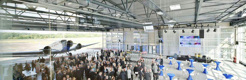 """""""Der Hugo Junkers Hangar hat inzwischen internationale Strahlkraft"""" –  Interview im Magazin »Wirtschaftsstandort Niederrhein«, Aug. 2018"""