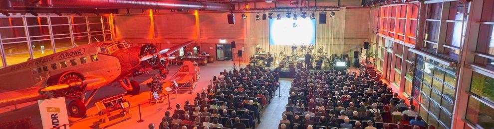 12. Juni 2020: die WDR Big Band im Hugo Junkers Hangar – Tickets jetzt buchbar
