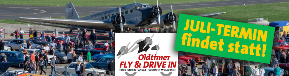 »Oldtimer Fly & Drive In« am 26. Juli findet statt