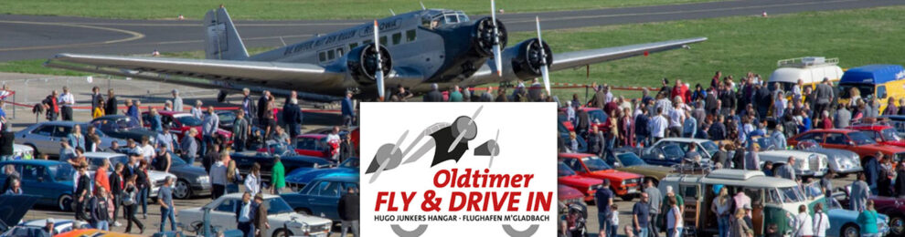 »Oldtimer Fly & Drive In« am 30. August