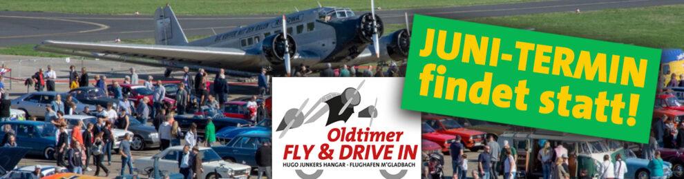 Oldtimer Fly & Drive In am 27. Juni findet statt!